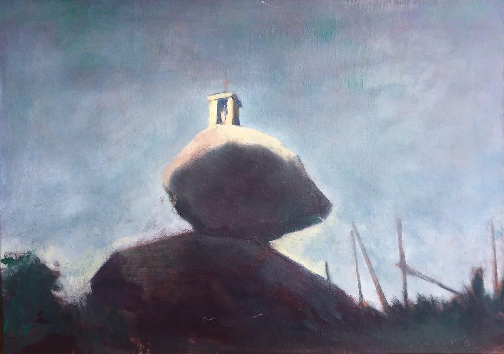 Vierge au rocher I